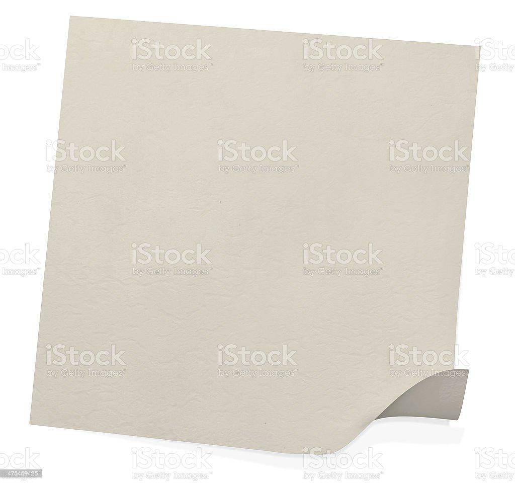 Folding handmade paper stock photo