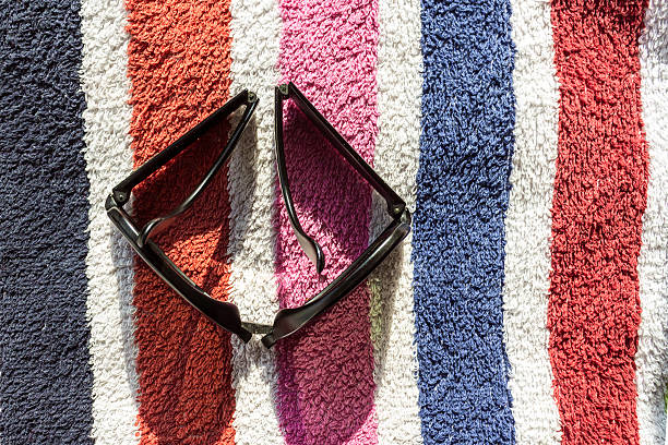 Folding Sunglasses stock photo