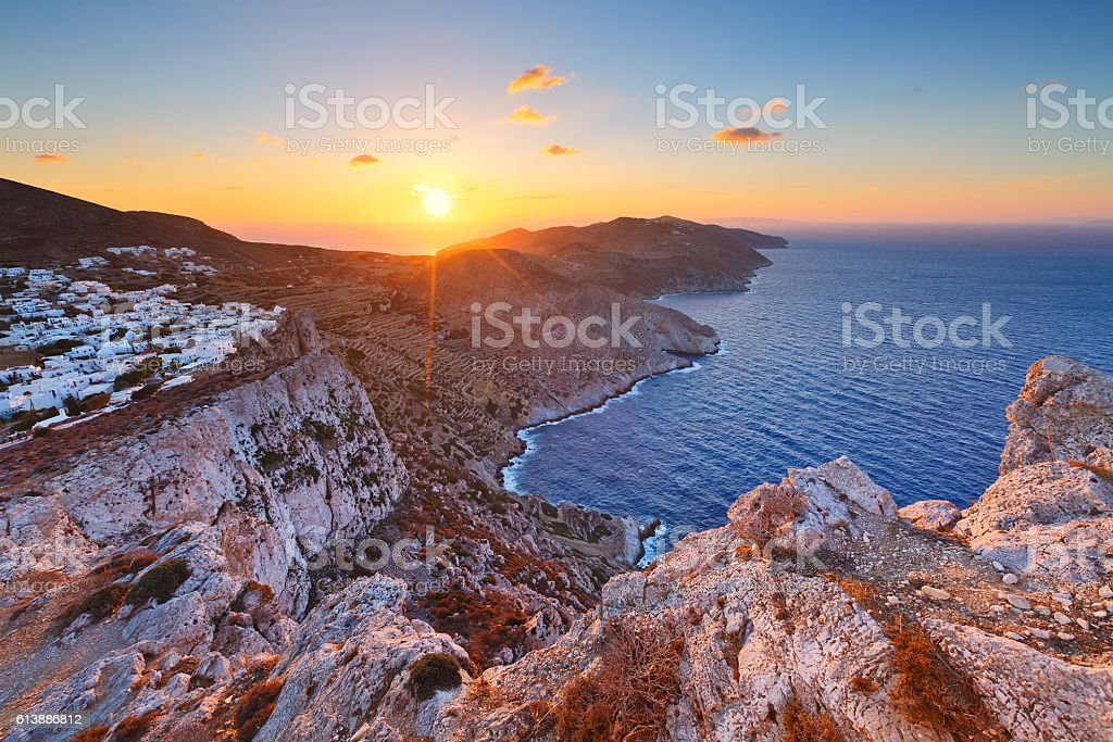 Folegandros. royalty-free stock photo