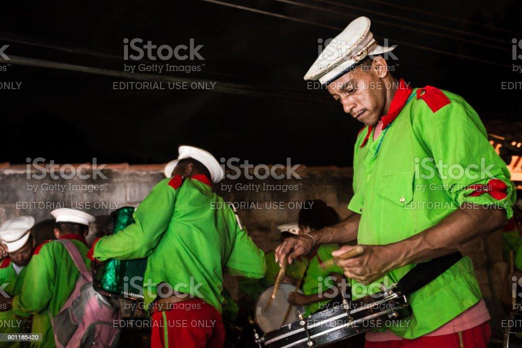 Folia de Reis, Three Wise Men folklore tradition stock photo