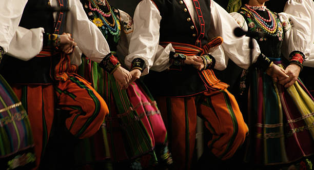 Folk dance, festival. Folk dance, folk festival. polish culture stock pictures, royalty-free photos & images