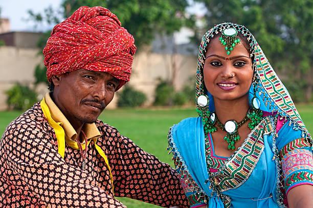 Folk Dancers stock photo
