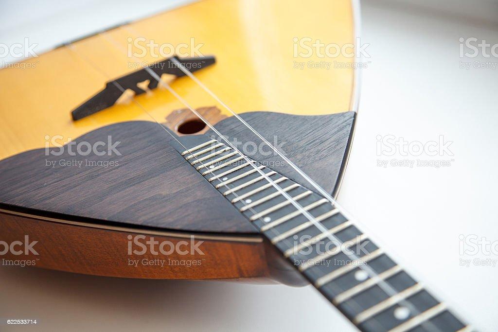 Folk musical instrument balalaika – Foto
