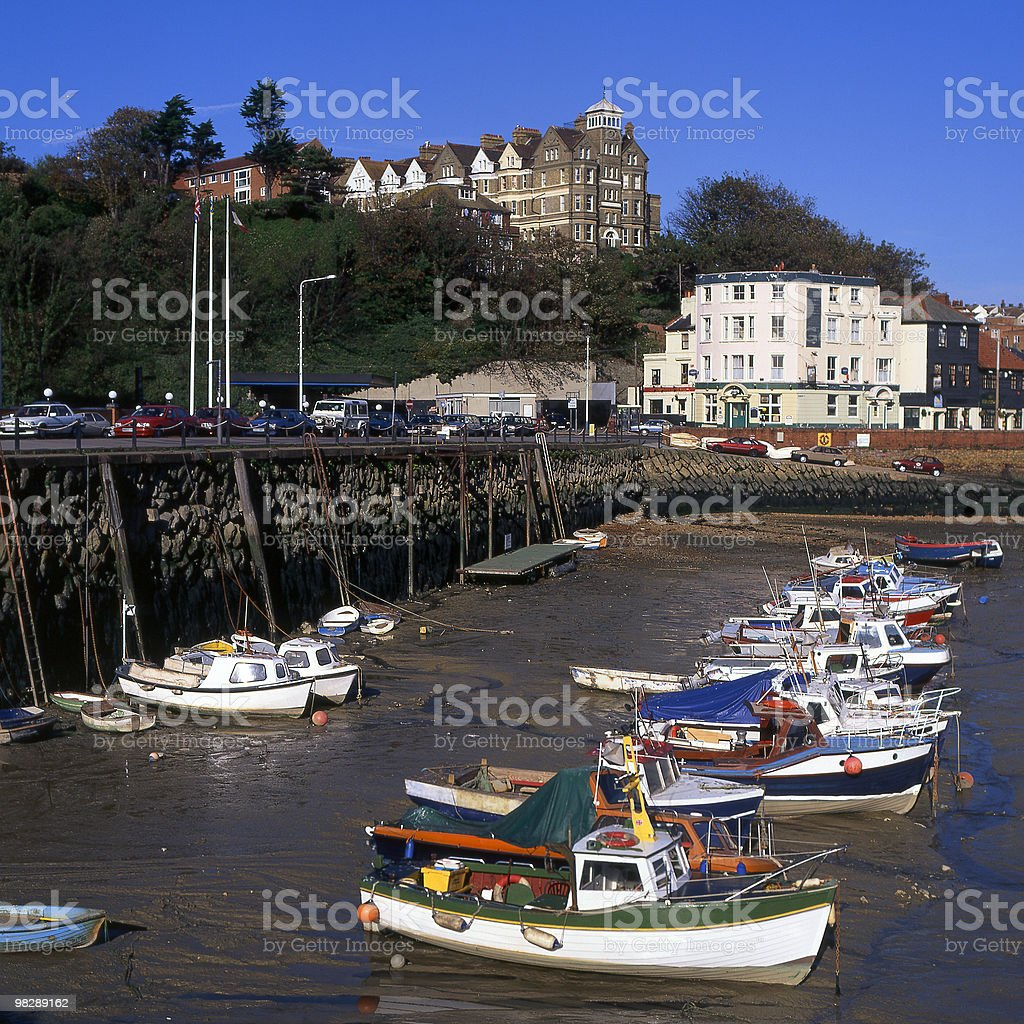 Folkestone Harbour, Kent, England royalty-free stock photo