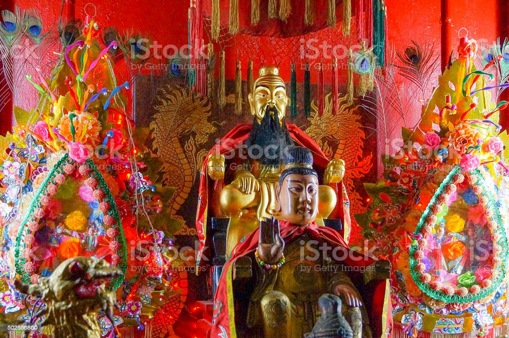 Folklike Altar stock photo