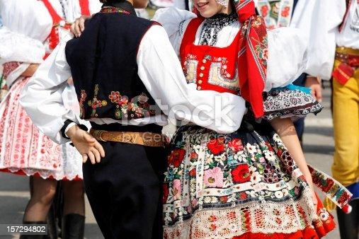 Slovacky rok - Famous folklore festival in Kyjov, Czech Republic