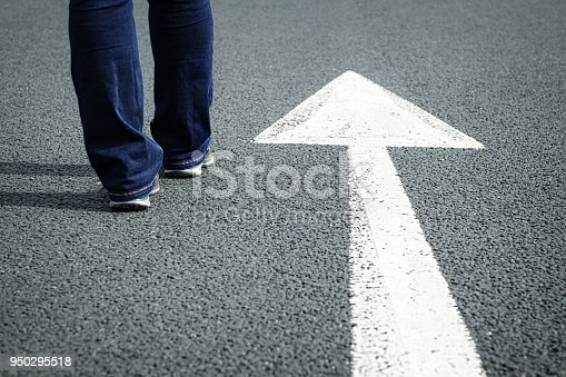 954712506istockphoto Follow the direction arrow 950295518