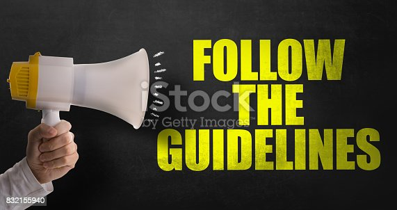 istock Follow the Guidelines 832155940