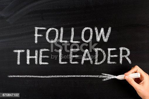 istock Follow the Leader 670847102