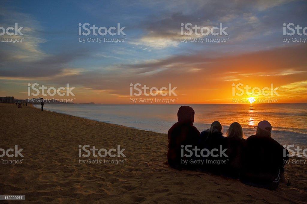 Follow the Sun royalty-free stock photo