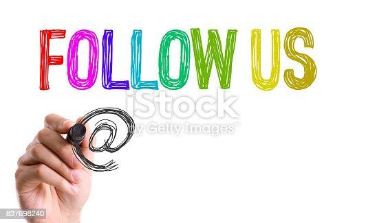 istock Follow Us 837698240