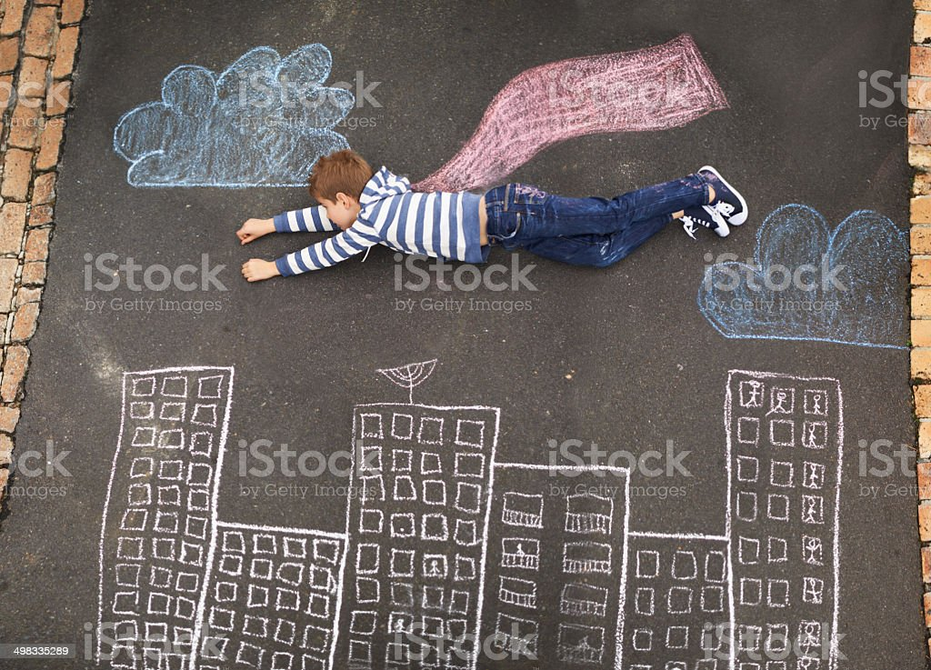 Follow your dreams... stock photo
