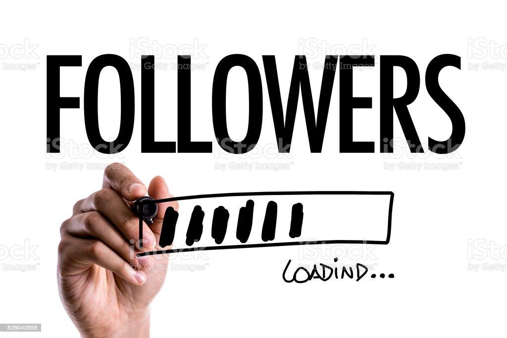 Followers - foto stock