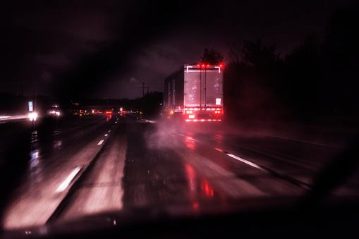 Rain Storm Dark