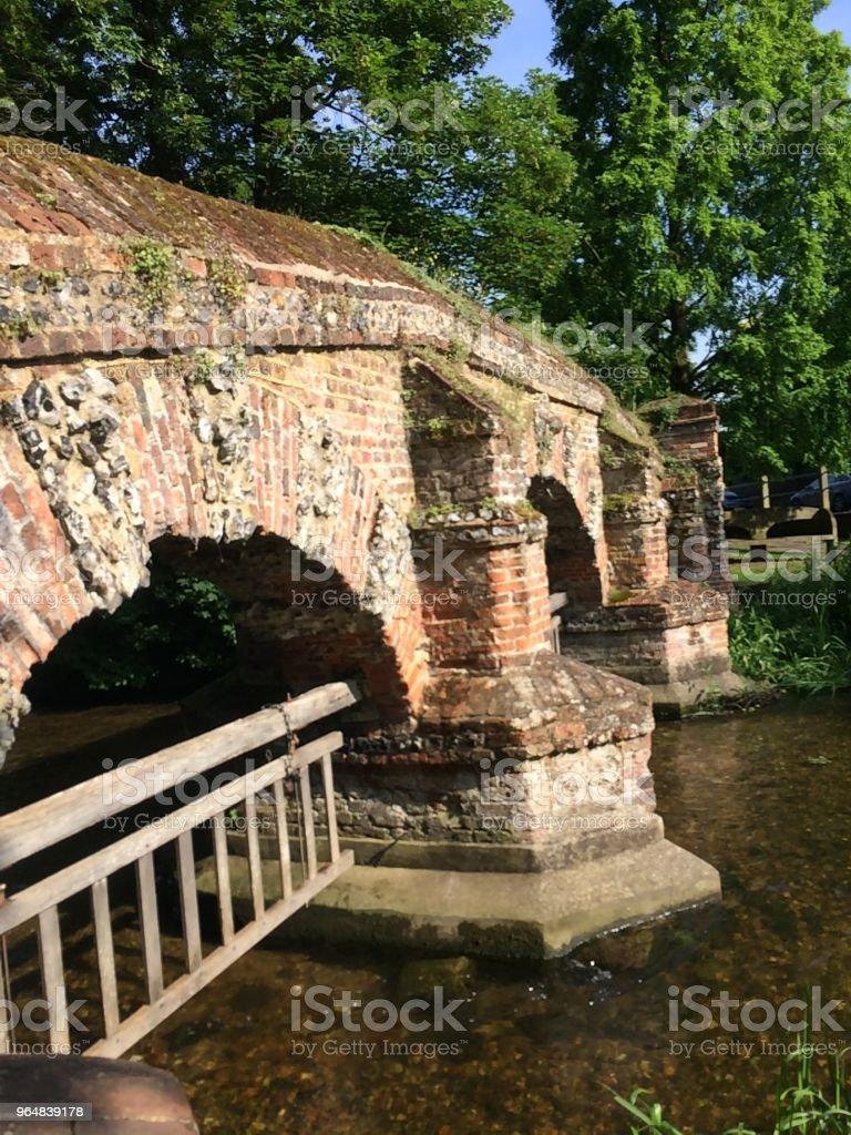 Folly Bridge, Farningham Kent royalty-free stock photo