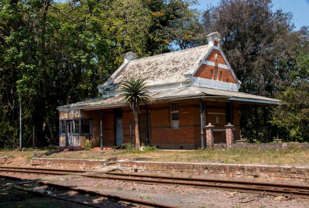Folorn Unused Railway Station – Foto