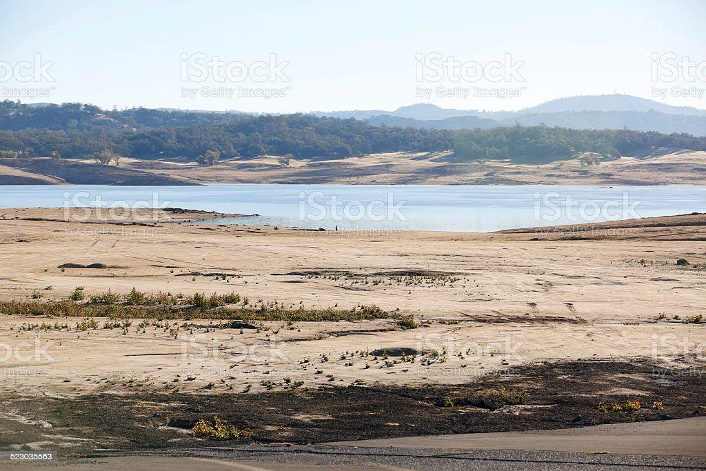 Folsom Lake California stock photo