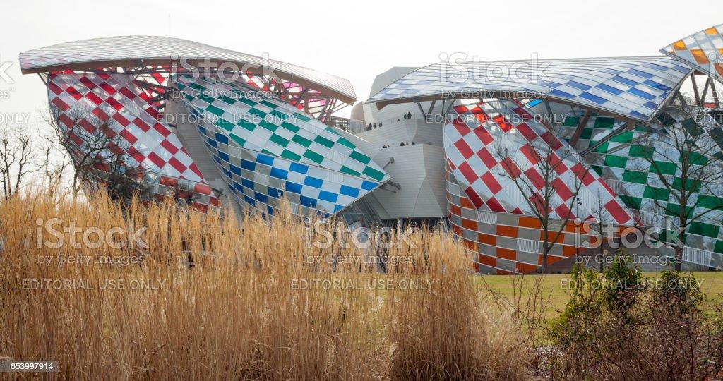 d3df6b07fcbae Fondation Louis Vuitton Museum Stockfoto und mehr Bilder von ...