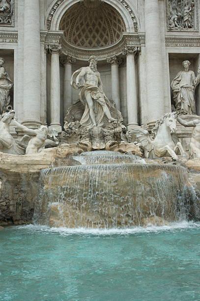 Springbrunnen Fontaine de Trevi à Rom – Foto