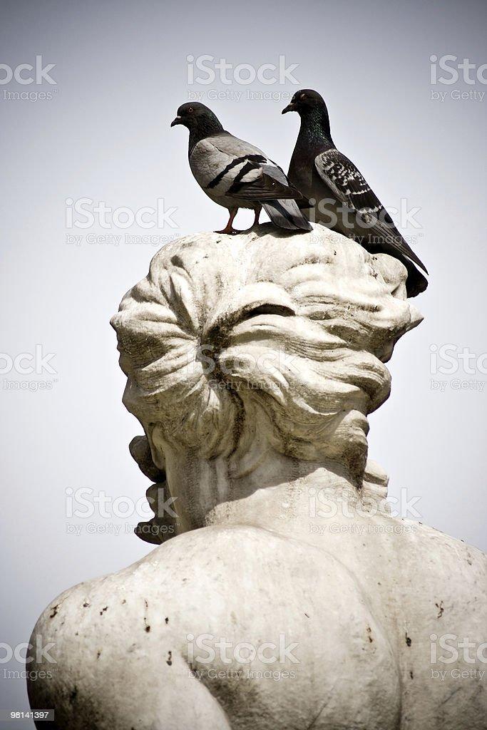 Fontana Del Moro in Piazza Navona royalty-free stock photo