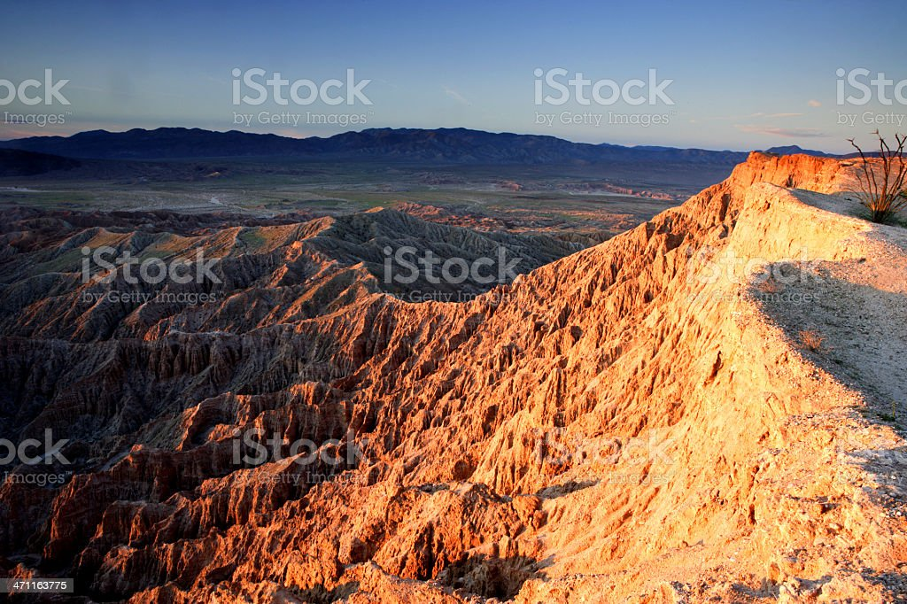 Font's Point at Sunrise stock photo