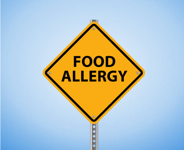 food allergy - food allergies stock photos and pictures