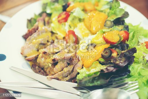546450250 istock photo food and drink in cafe 1127223370