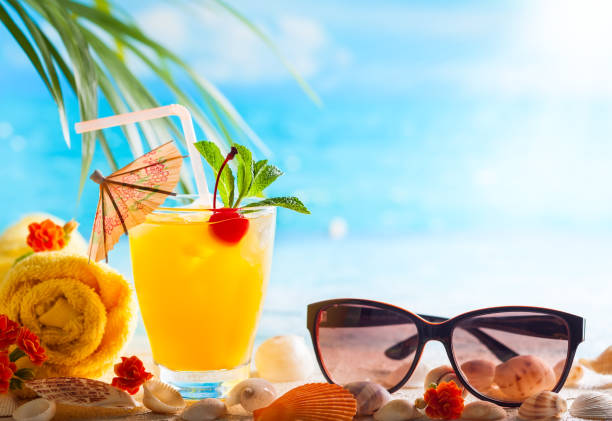 food and drinks - foto stock