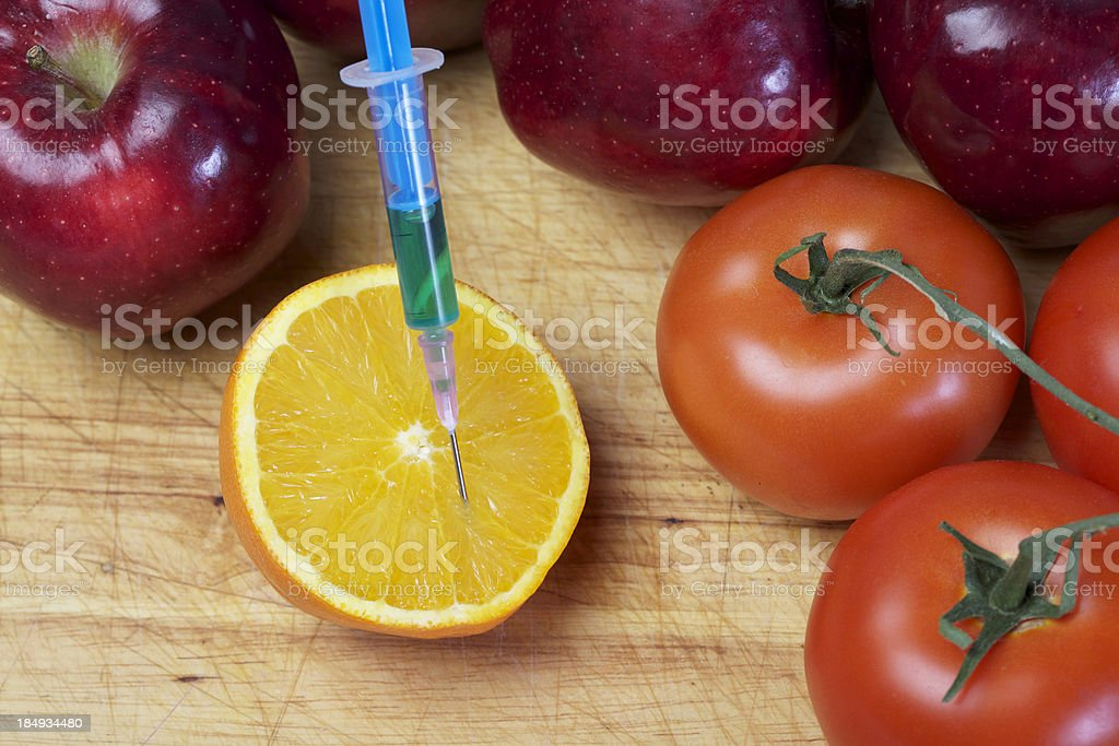 Food and Drugs royalty-free stock photo