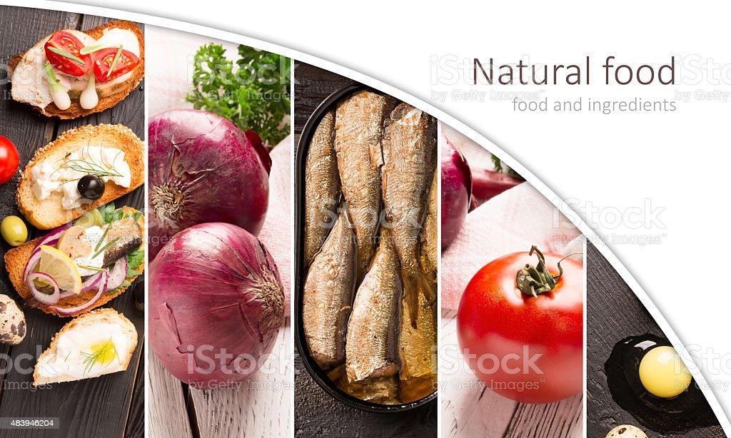 Food and ingredients stock photo
