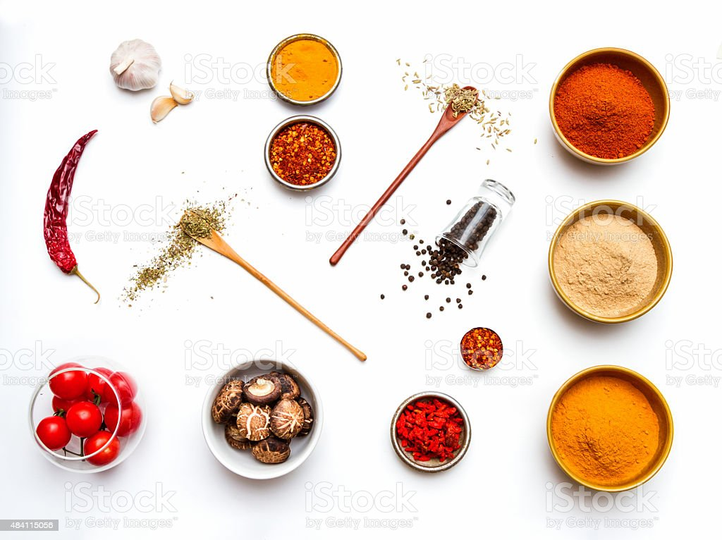 Food and spices herb for cooking. stock photo