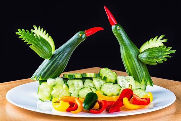 speisen-art - kochkunst stock-fotos und bilder