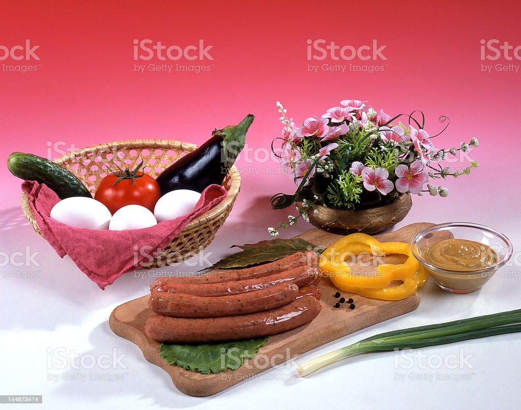 Food assortment royalty-free stock photo