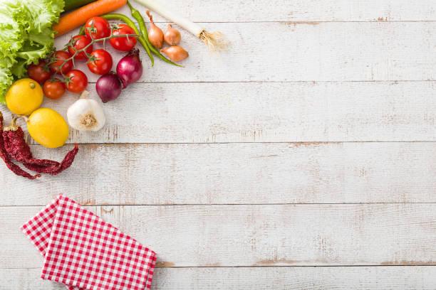 essen hintergrund - gemüsefond stock-fotos und bilder