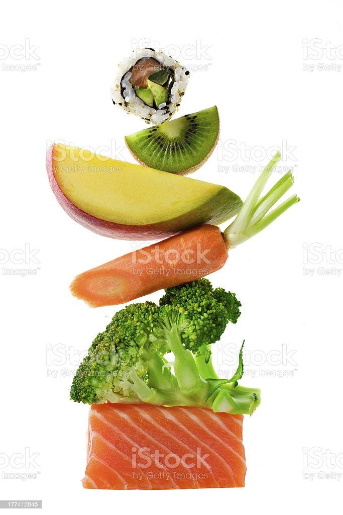 Food Balance stock photo