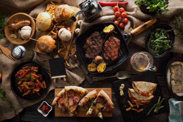 food blank background - foto stock