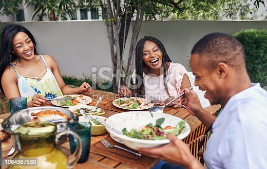 istock Food brings family together 1064987530