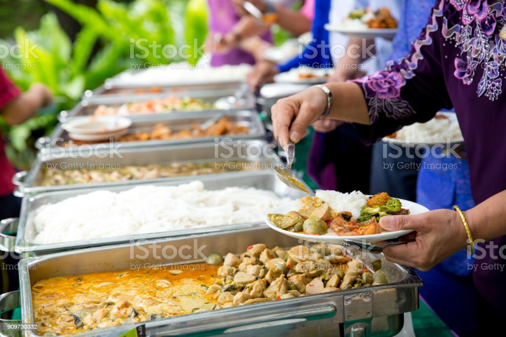 Amazing Food Buffet Catering Dining Eating Party Sharing Interior Design Ideas Helimdqseriescom