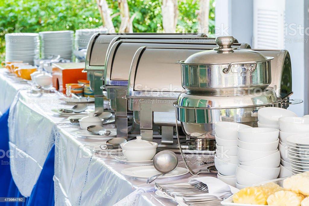 Food buffet. stock photo