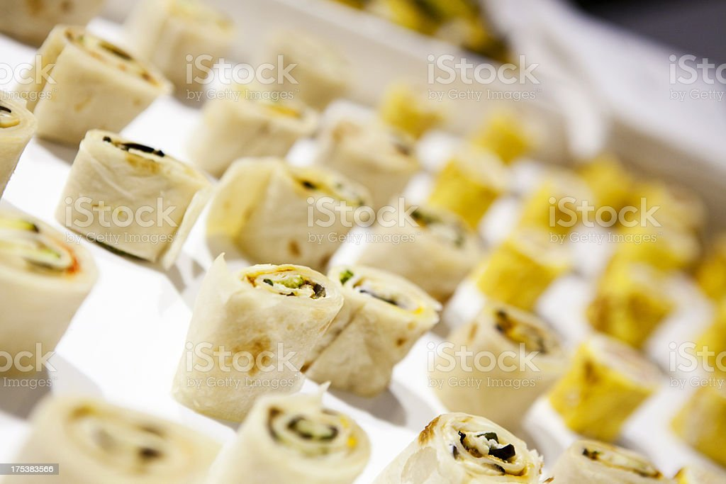 Food Catering Appetizer royalty-free stock photo