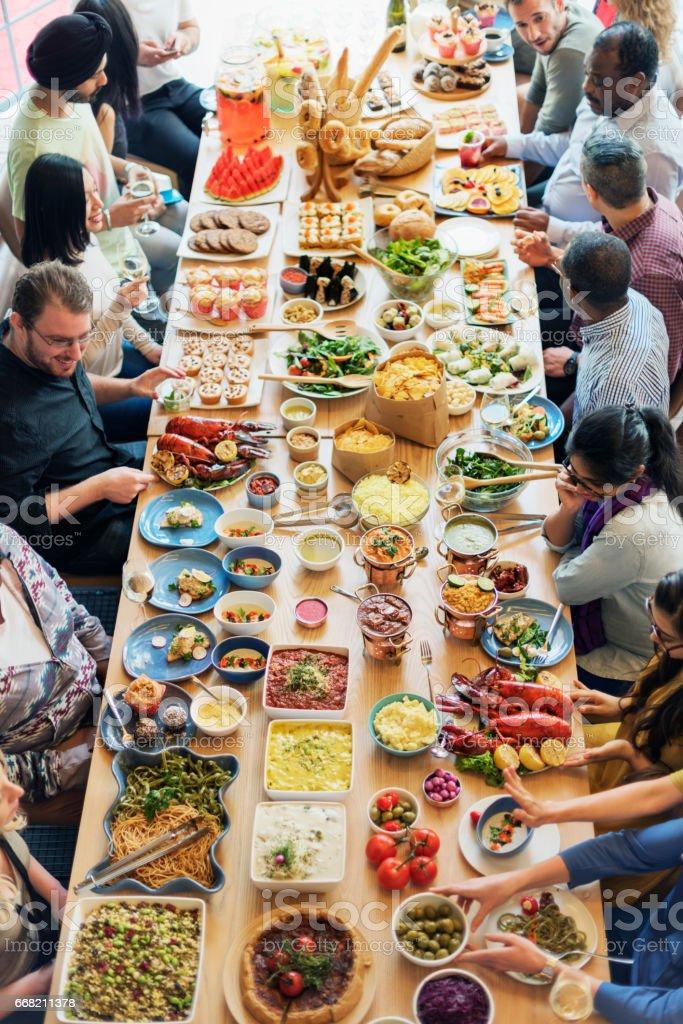 Essen Catering Kuche Kulinarische Gourmetbuffet Party Konzept Stockfoto Und Mehr Bilder Von Bufett Istock