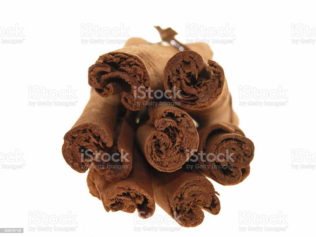 Food: Cinnamon Sticks (2 of 4) royalty-free stock photo