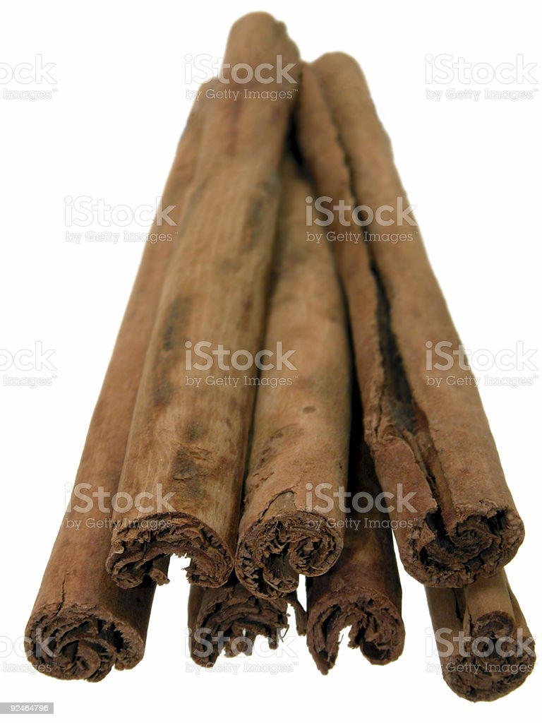 Food: Cinnamon Sticks royalty-free stock photo