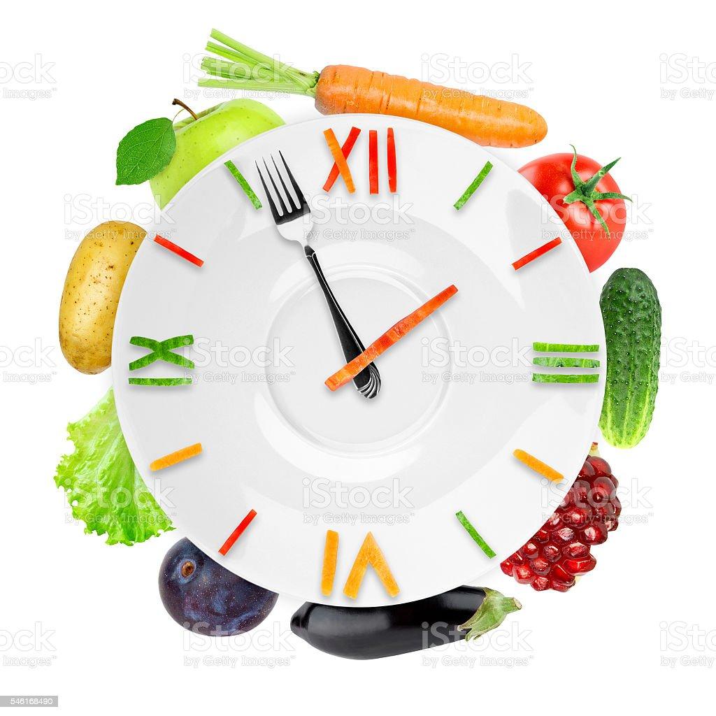 Speisen-mit Obst und Gemüse – Foto