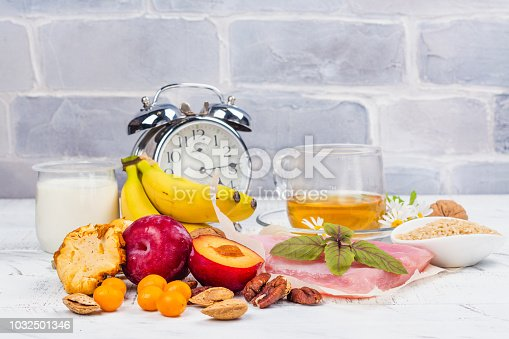 istock Food containing melatonin 1032501346