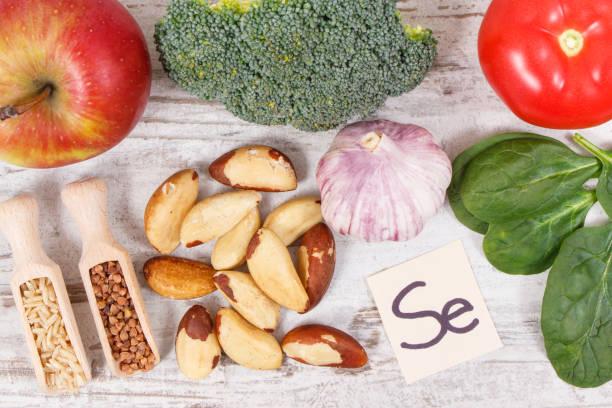 Selen,Vitamine und Ballaststoffe, gesundeernährung, gesundeernährung – Foto