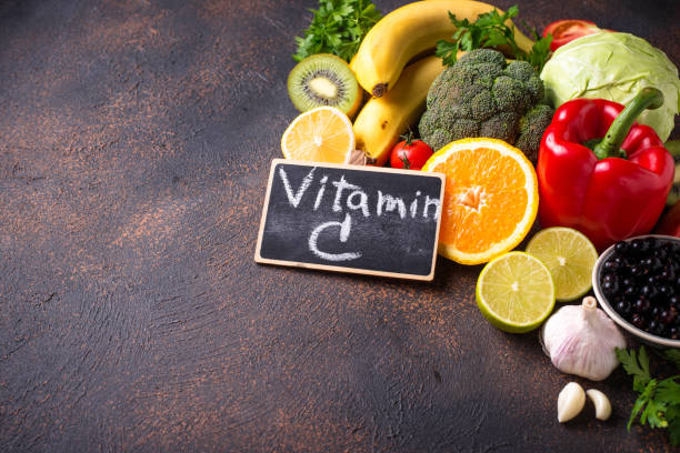 Food containing vitamin C. Healthy eating – zdjęcie