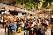 Food court market