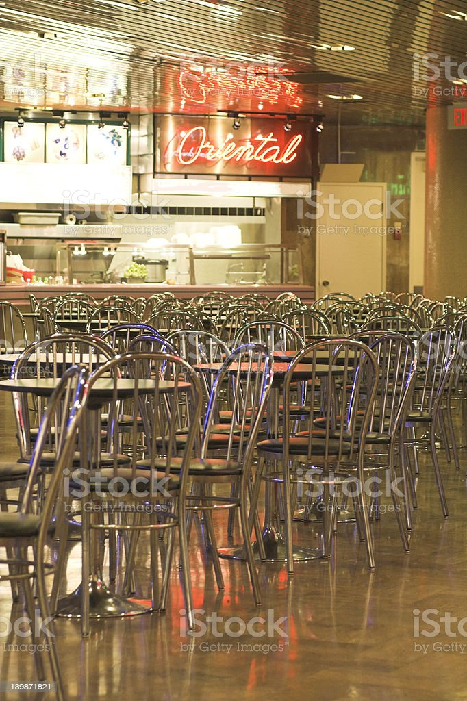 food court royalty-free stock photo