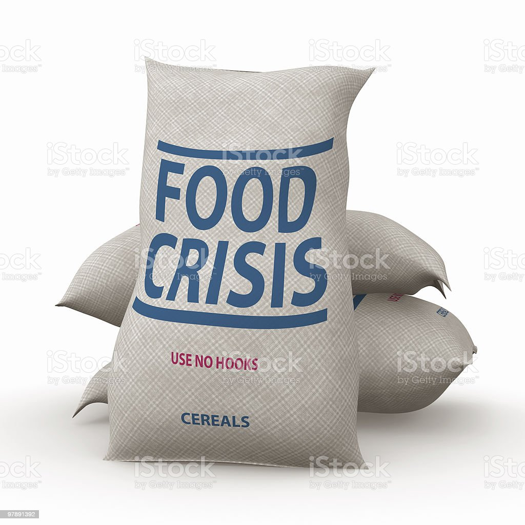 Food Crisis royalty-free stock photo